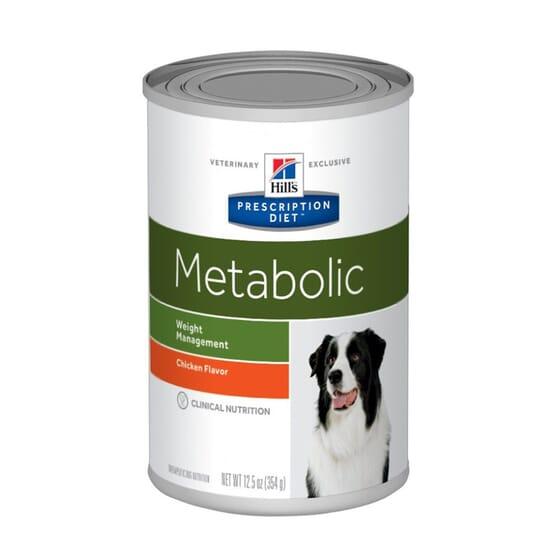 Prescription Diet Cão Metabolic Lata Frango 370g da Hill's