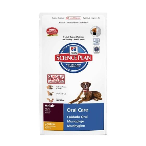 Science Plan Cão Adulto Oral Care Frango 5 Kg da Hill's