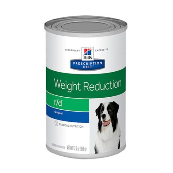 Prescription Diet Cão r/d Weight Reduction Lata Original 350g da Hill's
