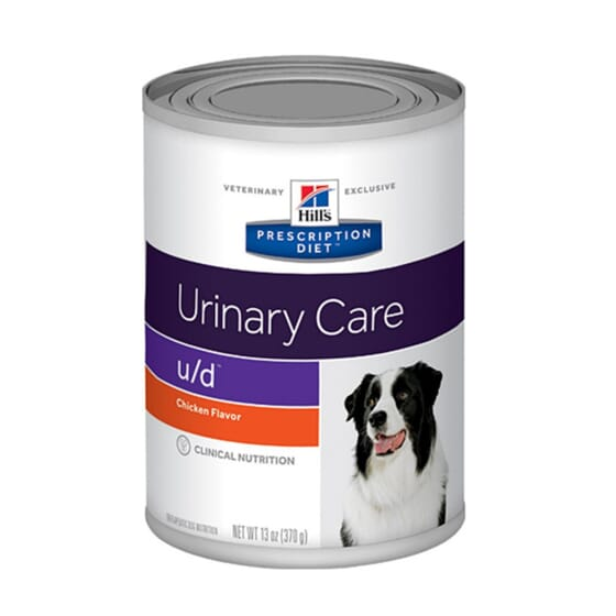 Prescription Diet Cão U/d Urinary Care Lata Original 370g da Hill's