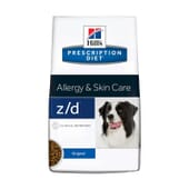 Prescription Diet Cão z/d Allergy Skin Care Original 3 Kg da Hill's