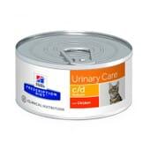 Prescription Diet Gato c/d Multicare Lata Pollo 156g de Hill's