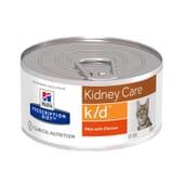 Prescription Diet Gato k/d Kidney Care Lata Pollo 156g de Hill's