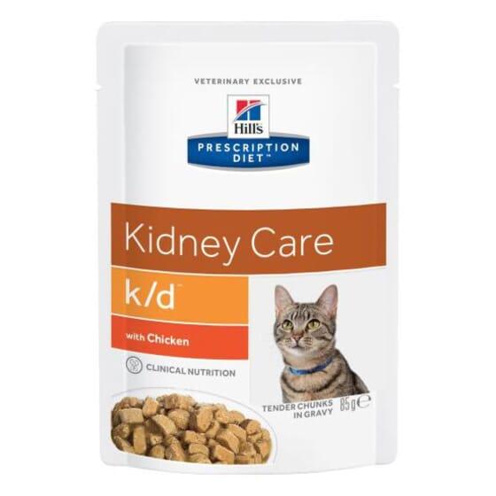 Prescription Diet Gato k/d Kidney Care Frango 85g da Hill's