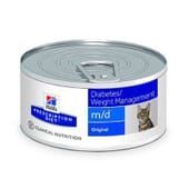 Prescription Diet Gato m/d Lata 156g de Hill's