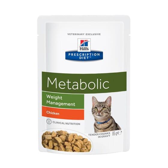 Prescription Diet Gato Metabolic Frango 85g da Hill's