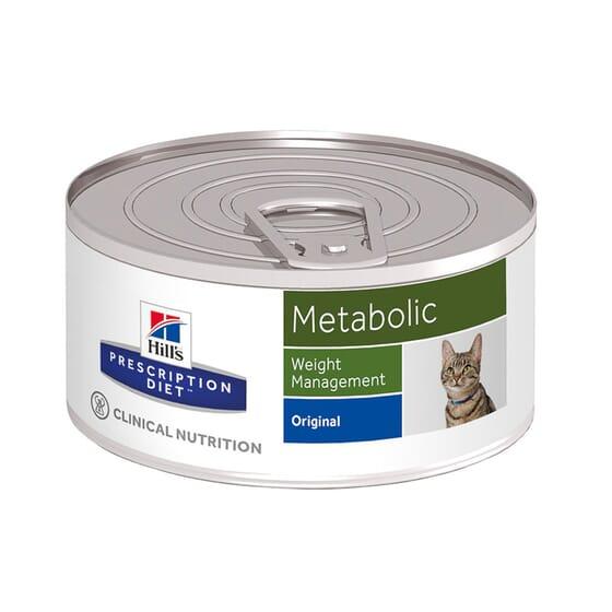Prescription Diet Gato Metabolic Lata 156g da Hill's