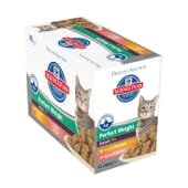Science Plan Gato Adulto Perfect Weight Multipack 12 Uds De 85g de Hill's