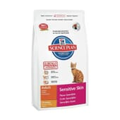 Science Plan Gato Adulto Sensitive Skin Frango 1,5 Kg da Hill's