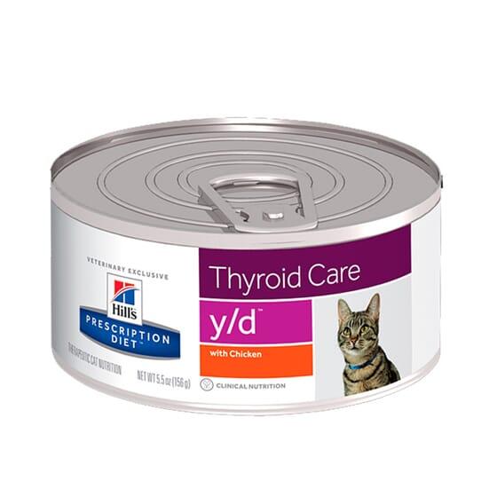 Prescription Diet Gato y/d Thyroid Care Lata 156g da Hill's