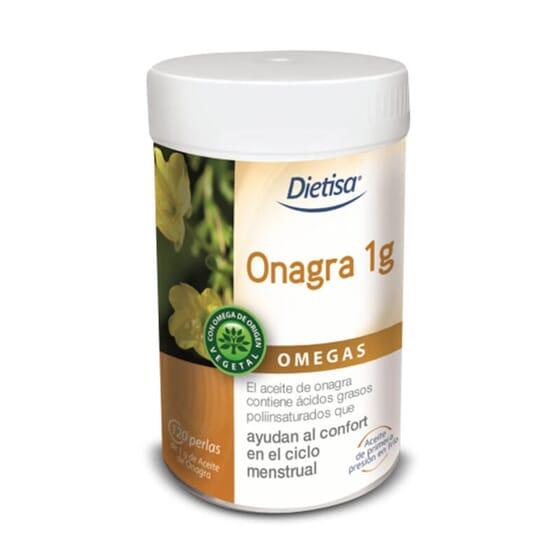 Omega 6 Onagra 120 Pérolas da Dietisa