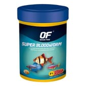 Alimento Peixes Super Bloodworm 10g da Ocean Free