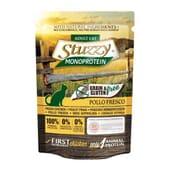 Cat Saqueta Monoprotein Grain Free Peixe 85g da Stuzzy