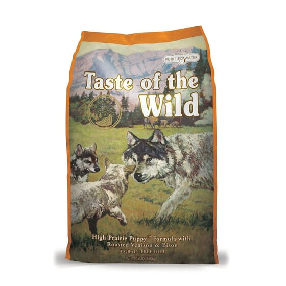 Ração Cachorros High Prairie Bisonte e Veado 6 Kg da Taste Of The Wild