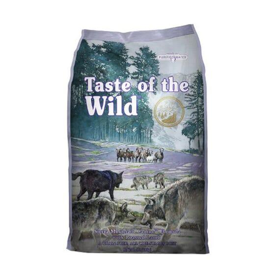 Ração Cães Sierra Mountain Borrego Assado 6 Kg da Taste Of The Wild