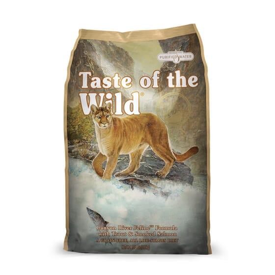 Ração Gatos Canyon River Truta e Salmão 7 Kg da Taste Of The Wild