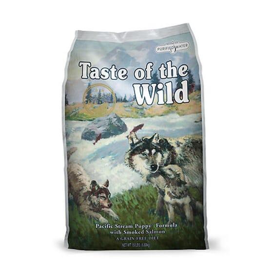 Ração Cachorros Pacific Stream Salmão 13 Kg da Taste Of The Wild
