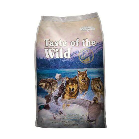 Ração Cães Wetlands Com Pato Assado 13 Kg da Taste Of The Wild