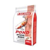 Alimento Peixes Pond Sticks Basic 2000 ml da Dajana
