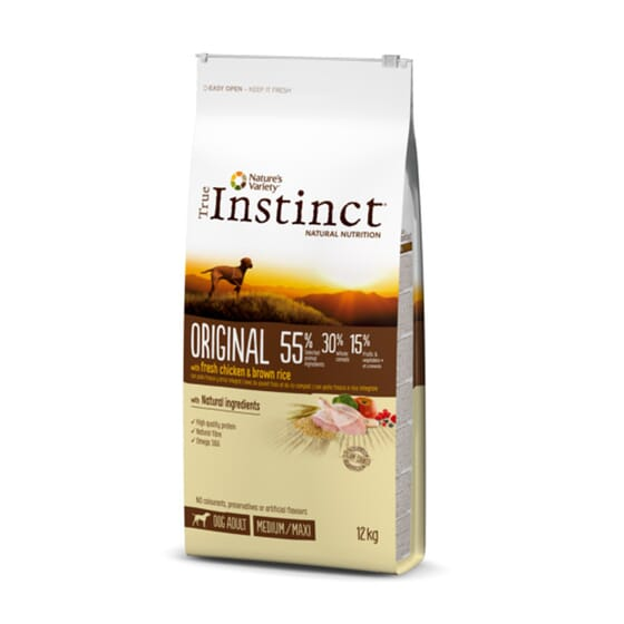 Original Frango Medium-Maxi Adulto 12 Kg da True Instinct