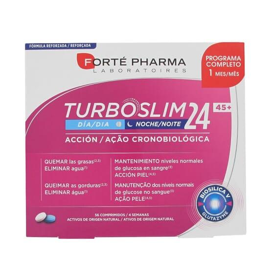 Turboslim Cronoactive Forte 45+ 56 Tabs de Forte Pharma