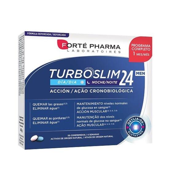 Turboslim Cronoactive Forte Men 56 Tabs de Forte Pharma