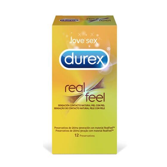 Durex Real Feel 12 Unids da Durex