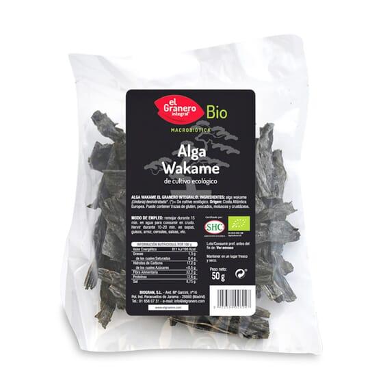 Alga Wakame Bio 50g de El Granero Integral