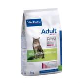 Crocchette Hpm Adulto Neutered E Entire Cat Con Salmone 7 Kg di Virbac