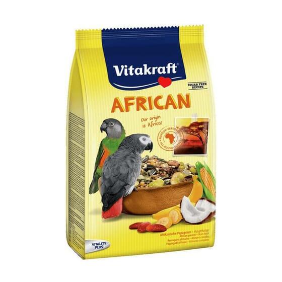 African Alimento Para Papagaios Cinzentos 750g da Vitakraft