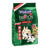 Menú Emotion Sensitive Alimento Para Conejos 600g de Vitakraft