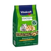Menu Emotion Beauty Junior Alimentos Para Coelhos Anãs 600g da Vitakraft