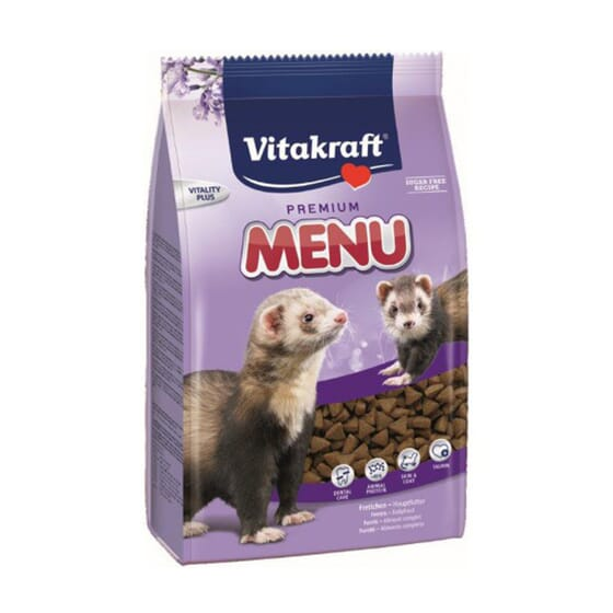 Menu Premium Aliment Pour Furets 800 g de Vitakraft