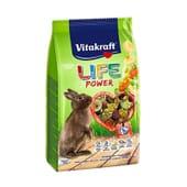 Menú Life Alimento Para Conejos Enanos 600g de Vitakraft