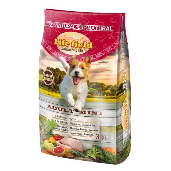 Ração Para Cães Adult Mini 3 Kg da Life Field