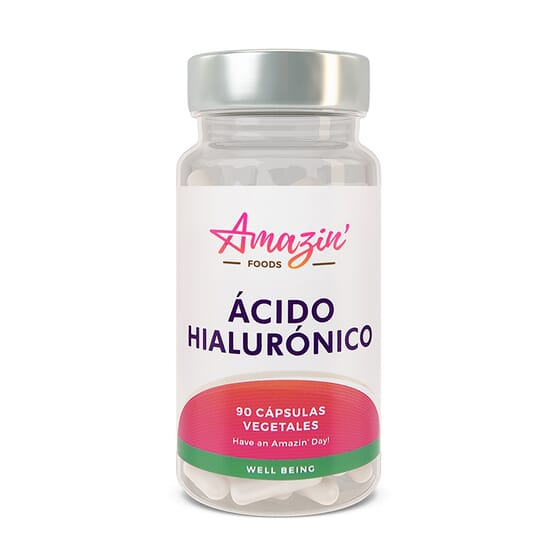 ACIDE HYALURONIQUE 90 VCaps Amazin' Foods