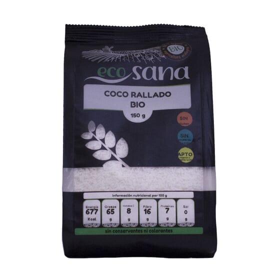 NOIX DE COCO RÂPÉE FINE BIO 150 g Ecosana