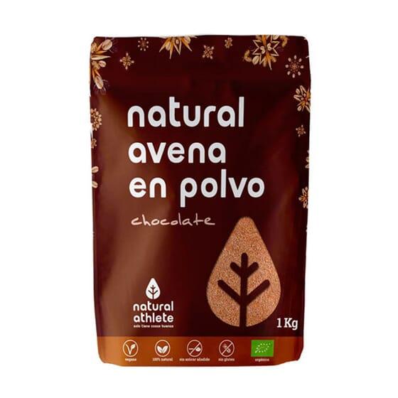 NATURAL AVENA EN POLVO CHOCOLATE 1000g de Natural Athlete
