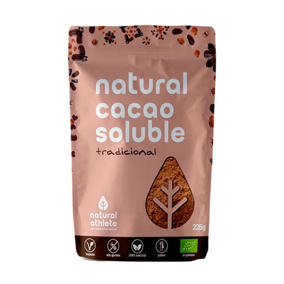 NATURAL CACAO SOLUBLE 225g de Natural Athlete