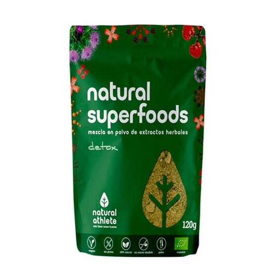 NATURAL SUPERFOODS DETOX 120g da Natural Athlete