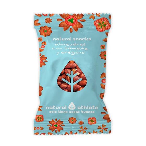 Natural Snack Di Mandorle Con Pomodoro E Origano 15 Unità Da 30g di Natural Athlete