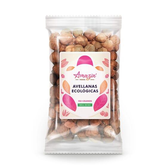AVELLANAS ECOLÓGICAS 150g de Amazin' Foods