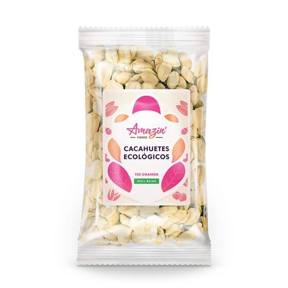 CACAHUETES ECOLÓGICOS 150g de Amazin' Foods