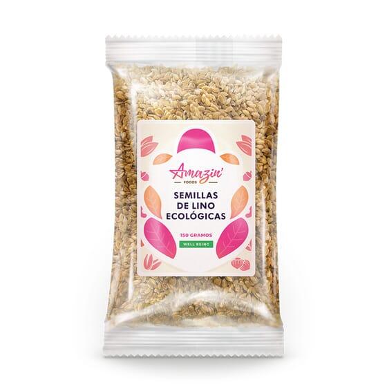 SEMILLAS DE LINO ECOLÓGICAS 150g de Amazin' Foods