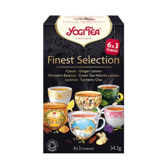SELECCIÓN AYURVÉDICA 18 Infusiones de Yogi Tea