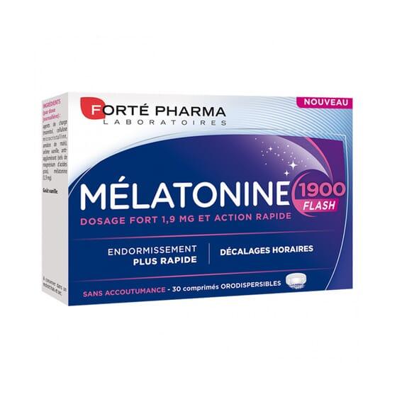 MELATONINA FLASH 1900 30 Tabs de Forté Pharma