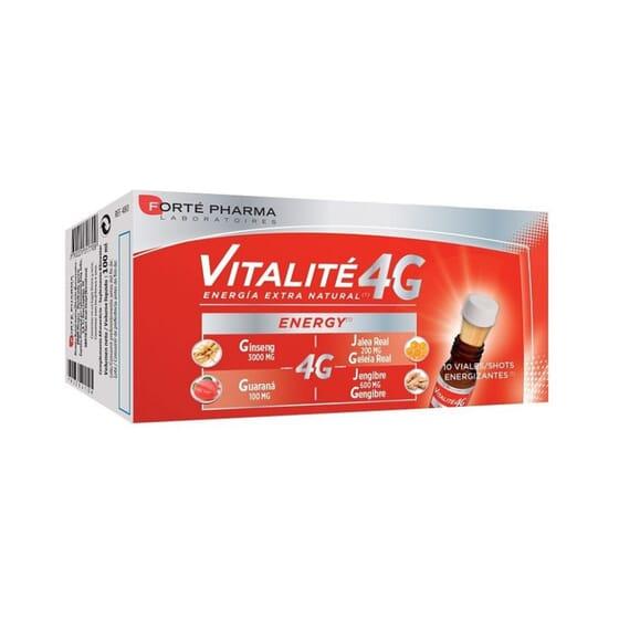 Vitalite 4G Energy 10 Fiale Da 10 ml di Forte Pharma