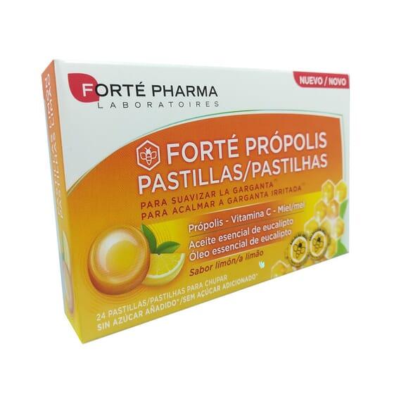 FORTE PRÓPOLIS PASTILLAS LIMÓN 24 Tabs de Forté Pharma