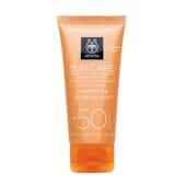 CRÈME SOLAIRE VISAGE PEAUX SENSIBLES SPF50 50 ml Apivita