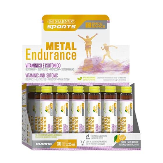 METAL ENDURANCE 30 Viales de 25ml de Marnys Sports